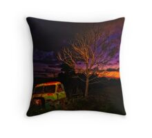 The Old Truck Throw Pillow