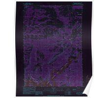USGS Topo Map Oregon Eagle Rock 279747 1990 24000 Inverted Poster