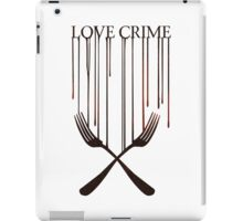 Love crime iPad Case/Skin