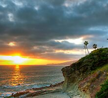 Laguna Beach Sunset by Eddie Yerkish