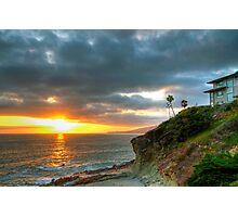 Laguna Beach Sunset Photographic Print