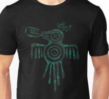 Drinky Aztec Spirit Crow Unisex T-Shirt