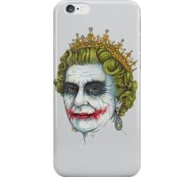 God save The Joker iPhone Case/Skin