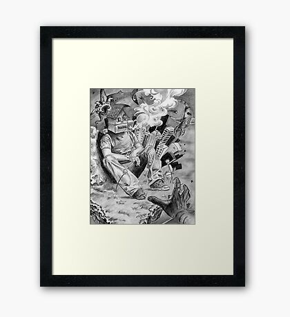 Higher Elevation Framed Print