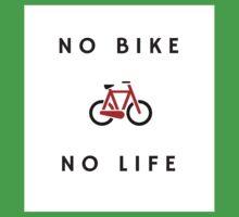 No Bike No Life One Piece - Short Sleeve