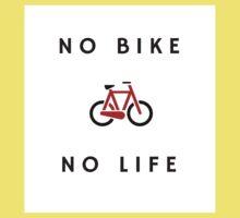 No Bike No Life Kids Tee
