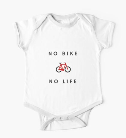 No Bike No Life One Piece - Short Sleeve
