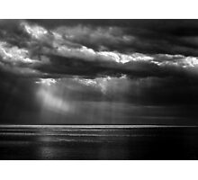 Watching the Storm Photographic Print