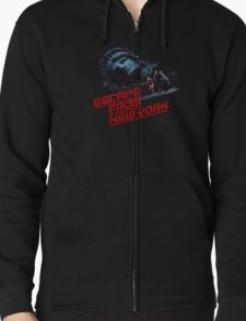 Escape From New York Zipped Hoodie