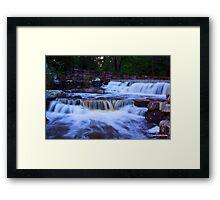 Lake Bailey Falls  Framed Print