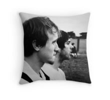Lucas and Mike Throw Pillow