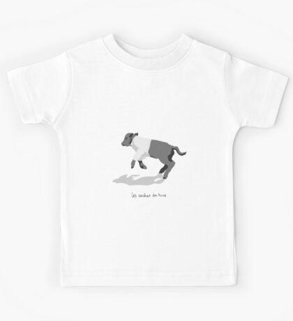 Les Vaches du Tour - kids' wear Kids Tee