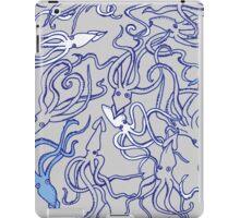 Squids of the Inky sea iPad Case/Skin