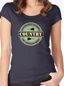 Bakersfield Country Music Women's Fitted Scoop T-Shirt