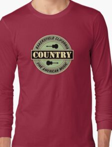 Bakersfield Country Music Long Sleeve T-Shirt
