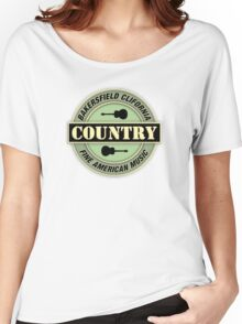 Bakersfield Country Music Women's Relaxed Fit T-Shirt