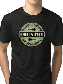 Bakersfield Country Music Tri-blend T-Shirt