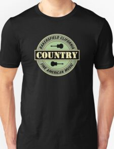 Bakersfield Country Music Unisex T-Shirt