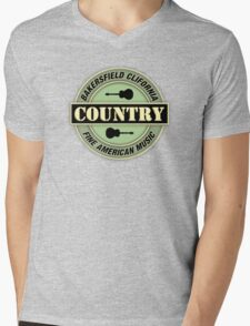 Bakersfield Country Music Mens V-Neck T-Shirt