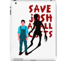 SAVE JOSH WASHINGTON! iPad Case/Skin