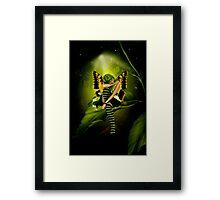 Emerald Faerie Framed Print