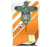 TMNT - Michelangelo Poster