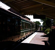 Dunster Station, Somerset by moor2sea