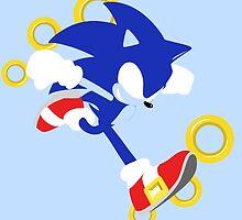 Sonic the Hedgehog by Dimeji