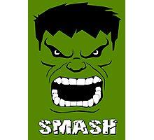 Hulk Smash Photographic Print