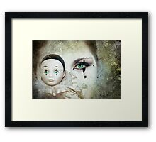 Same Difference Framed Print