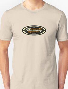 Old Harmony Guitars Oval Unisex T-Shirt