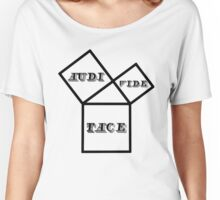 Hear, See, Be Silent. Women's Relaxed Fit T-Shirt