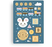 Give a Mouse a Cookie  Canvas Print