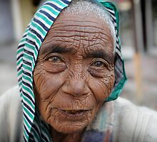 Old Indian Woman by Hannah Millerick