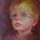 Joe, aged 4 by Kathylowe