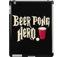 beer pong hero iPad Case/Skin