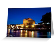 Roma : Castel S. Angelo Greeting Card