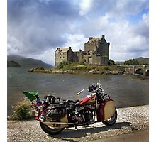 Highland Indian Colour Photographic Print