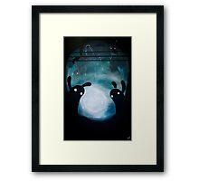 Monster Playground Framed Print