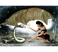 The Elf and the Snake Photographic Print