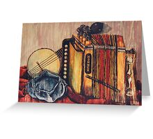 Melodian Still Life Greeting Card