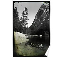 Mirror Lake 4 - Yosemite National Park - Vintage Poster