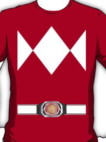 Red Ranger 2.0 T-Shirt