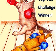 Banner challenge entry - Pets are Us by Margaret Sanderson