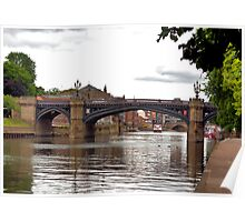 Skeldergate Bridge - York. Poster