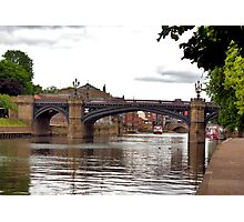 Skeldergate Bridge - York. Photographic Print