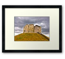 Clifford's Tower - York Framed Print