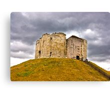 Clifford's Tower - York Canvas Print