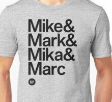 BBG021 — Fab Four Unisex T-Shirt