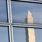 Reflection Of Washington Monument by David Piszczek